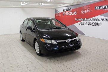 2008 Honda Civic Sdn + AIR CLIM + VITRES ET MIROIRS ÉLECTRIQUES