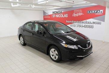 Honda Civic Sdn LX + JAMAIS ACCIDENTÉ + SIEGES CHAUFFANTS 2013