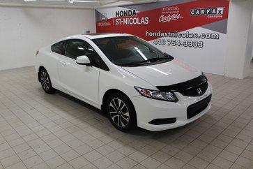 Honda Civic EX + MANUEL + TOIT + SIÈGES CHAUFFANTS 2013