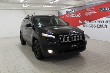 2016 Jeep Cherokee NORTH LATITUDE + V6 + TOIT PANORAMIQUE + AWD + 4X4