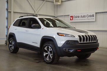 2015 Jeep Cherokee Trailhawk 4WD (cuir-caméra-navi)