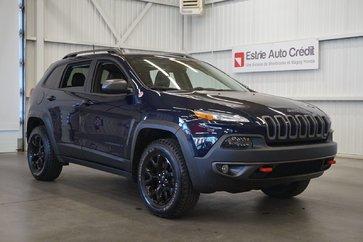 Jeep Cherokee Trailhawk 4WD (caméra-navi-cuir) 2016
