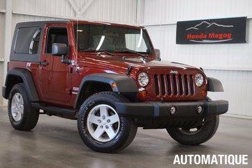 2010 Jeep Wrangler Sport 4x4
