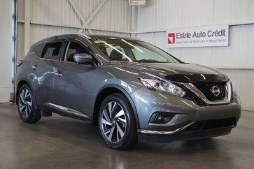 Nissan Murano Platinum AWD (cuir-toit pano-caméra-navi) 2016