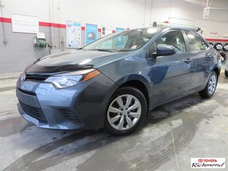 Toyota Corolla LE Gr:A *GARANTIE PROLONGÉE* 2014