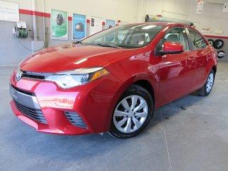 Toyota Corolla LE Gr:A 2015