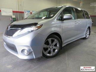Toyota Sienna SE V6 8 PASSAGERS *CAMÉRA* 2014
