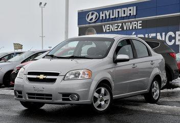 2008 Chevrolet Aveo LT  **TOIT OUVRANT**