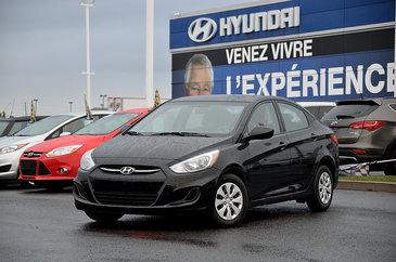 Hyundai Accent GL SIÈGES CHAUFFANTS 2017