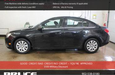 2011 Chevrolet Cruze LS 1.8L 4 CYL 6 SPD MANUAL 4D SEDAN | Photo 1