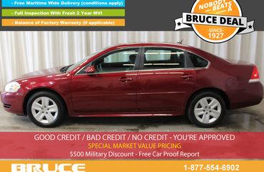 2011 Chevrolet Impala LS 3.5L 6 CYL AUTOMATIC FWD 4D SEDAN | Photo 1