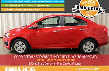 2013 Chevrolet Sonic LT 1.8L 4 CYL AUTOMATIC FWD 4D SEDAN | Photo 1