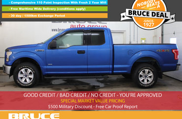 2015 Ford F-150 XLT 2.7L 6 CYL ECOBOOST AUTOMATIC 4X4 SUPERCAB | Photo 1