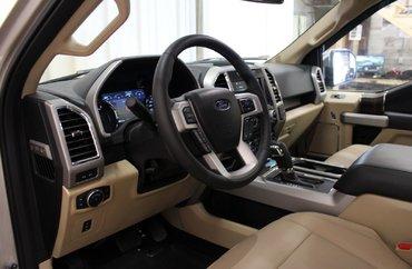 2017 Ford F-150 LARIAT 5.0L 8 CYL AUTOMATIC 4X4 SUPERCREW
