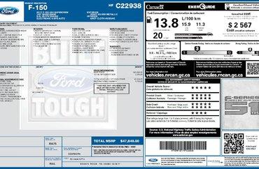 2017 Ford F-150 XLT 5.0L 8 CYL AUTOMATIC 4X4 SUPERCREW
