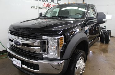 2018 Ford F-550 S/DUTY DRW XLT 6.7L DIESEL 4X4 CHASSIS CAB