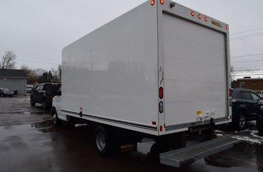 2018 GMC Savana 3500 - 6.0L 8 CYL AUTOMATIC RWD CUBE VAN