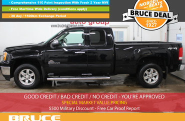 2013 GMC Sierra 1500 SLE 5.3L 8 CYL AUTOMATIC 4X4 EXTENDED CAB   Photo 1