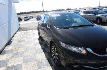 2013 Honda Civic Touring 1.8L 4 CYL I-VTEC AUTOMATIC FWD 4D SEDAN