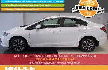 2013 Honda Civic EX 1.8L 4 CYL I-VTEC AUTOMATIC FWD 4D SEDAN | Photo 1