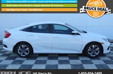2017 Honda Civic LX 2.0L 4 CYL 6 SPD MANUAL FWD 4D SEDAN | Photo 1