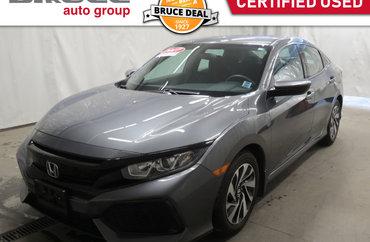 2017 Honda Civic LX - HEATED SEATS / HATCHBACK / REAR CAMERA