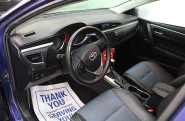 2014 Toyota Corolla S 1.8L 4 CYL CVT FWD 4D SEDAN