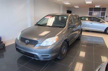 2004 Toyota Matrix 1.8L 4 CYL 5 SPD MANUAL FWD 5D HATCHBACK