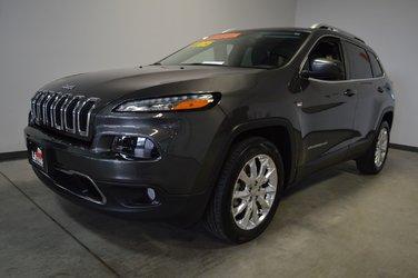 Jeep Cherokee LIMITED V6 GPS DÉMARREUR À DISTANCE 2017