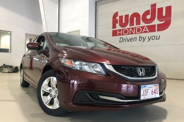 2014 Honda Civic Sedan LX w/heated front seats, MANUAL
