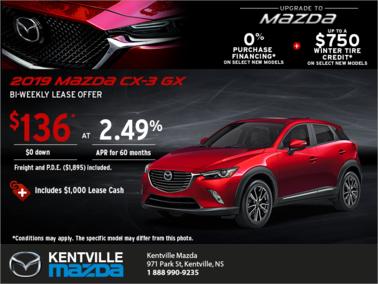 Mazda - Get the 2019 Mazda CX-3 Today!