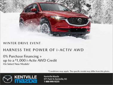 Mazda - Mazda Winter Drive Event!