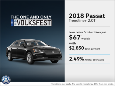 Get the 2018 Passat!