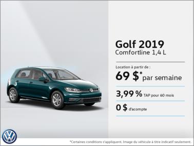 Louez la Golf 2019!