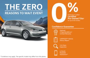 Volkswagen CPO Event