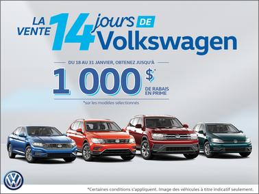 L'événement 14 Jours de Volkswagen!