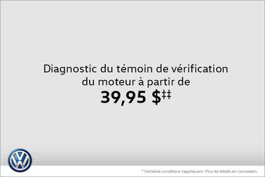 Diagnostic du témoin de vérification du moteur à partir de 39,95$