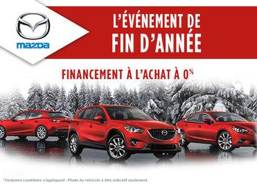 L'événement de fin d'année Mazda
