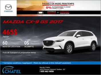 Louez la Mazda CX-9 GS 2017!