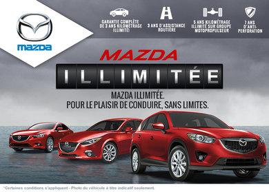 Garantie illimitée chez Mazda