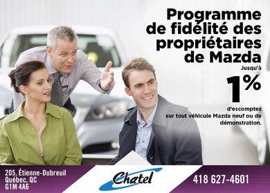 Programme de fidélité des propriétaires de Mazda