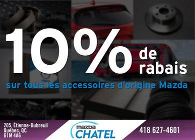 10% de rabais sur les accessoires