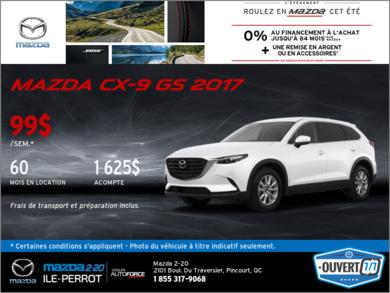 La toute nouvelle Mazda CX-9 2017!