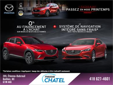 L'événement Passez en mode printemps Mazda