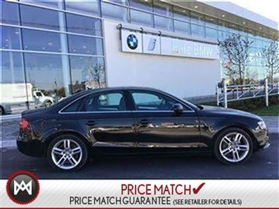 2013 Audi A4 ROOF LEATHER AWD
