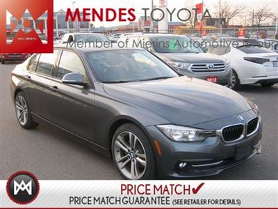 2016 BMW 3 Series AWD SPORT LINE ROOF LEATHER
