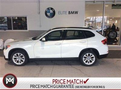 2013 BMW X1 AWD, 53K, WHITE