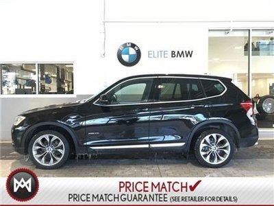 2017 BMW X3 NAV, PREMIUM, AWD