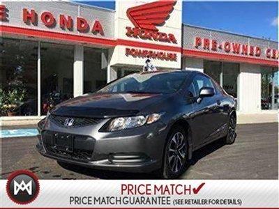 2013 Honda Civic Cpe EX-REMOTE STARTER!!COMPREHENSIVE WARRANTY!SUNROOF!