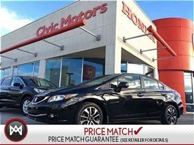 2013 Honda Civic Sdn EX - 7YR/130KM WARRANTY, HEATED SEATS, BLUETOOTH